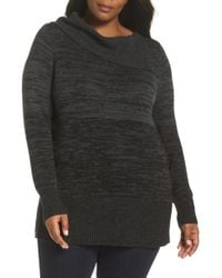 Sejour - Split Neck Sweater - Lyst