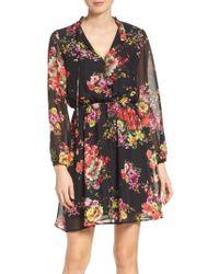 Fraiche By J | Floral Chiffon A-line Dress | Lyst
