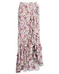 Raga - Summer Bloom Ruffle Skirt - Lyst