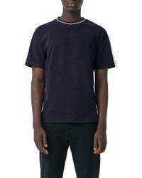 Burberry - Roedon Tape T-shirt - Lyst
