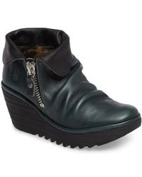 Fly London - Yoxi Wedge Bootie - Lyst