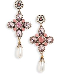 Shashi - Sydney Drop Earrings - Lyst