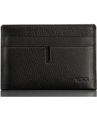 Tumi - Leather Money Clip Card Case - Lyst