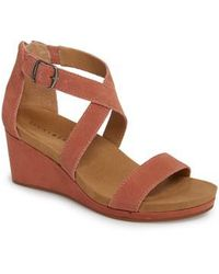 Lucky Brand - Kenadee Wedge Sandal - Lyst