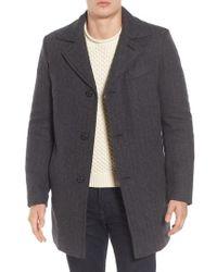 Pendleton - Manhattan Wool Blend Top Coat - Lyst