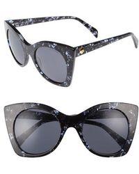 Draper James - 51mm Geometric Sunglasses - - Lyst