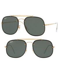 Ray-Ban - Blaze General 58mm Aviator Sunglasses - - Lyst