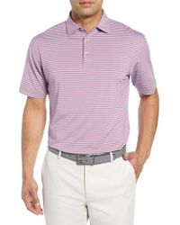 Peter Millar - Competition Stripe Performance Polo - Lyst