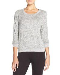 Make + Model - Brushed Hacci Sweatshirt - Lyst