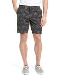 Jeremiah - Big Surf Print Hybrid Shorts - Lyst
