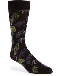 Pantherella - Tropical Crew Socks - Lyst