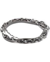 Title Of Work - Triple Wrap Bracelet - Lyst