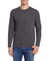 Bonobos - Slim Fit Ribbed Double Face T-shirt - Lyst