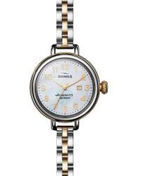 Shinola | 'the Birdy' Bracelet Watch | Lyst