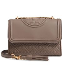Tory Burch - Small Fleming Leather Convertible Shoulder Bag - Lyst