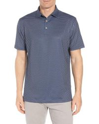 Peter Millar - Beasley Medallion Stretch Jersey Polo - Lyst