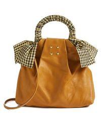 Trademark - Hazel Leather Shopper - - Lyst