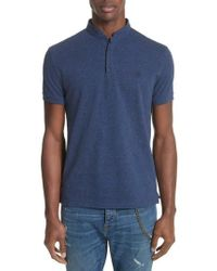The Kooples - Shiny Pique Polo - Lyst