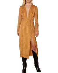 The East Order - Blaire Midi Dress - Lyst