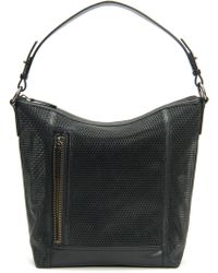 Frye - Lena Perforated Leather Hobo - Lyst