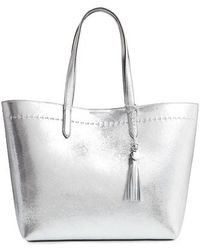 Cole Haan - Payson Metallic Leather Tote - - Lyst