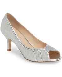 Paradox London Pink - Chester Peep Toe Pump - Lyst