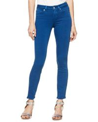PAIGE - Verdugo Transcend Ankle Skinny Jeans - Lyst