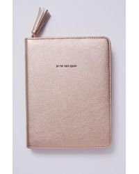 Anthropologie - Idiom Leather Journal - Lyst