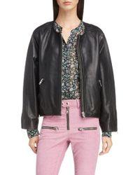 Étoile Isabel Marant - Akady Leather Jacket - Lyst