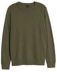 J.Crew - Crewneck Cotton Field Sweatshirt - Lyst