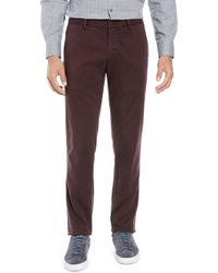 Zachary Prell - Aster Straight Fit Pants - Lyst