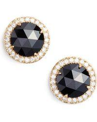 Kate Spade | Bright Ideas Pave Halo Stud Earrings | Lyst