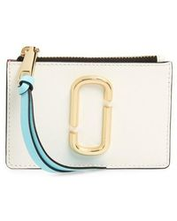 Marc Jacobs - Snapshot Leather Id Wallet - Lyst