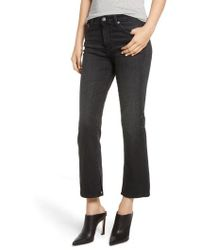 AG Jeans - Jodi Crop Slit Flare Jeans - Lyst