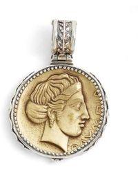 Konstantino | 'kerma' Coin Pendant | Lyst