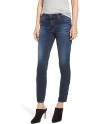 AG Jeans - Prima Ankle Cigarette Jeans - Lyst
