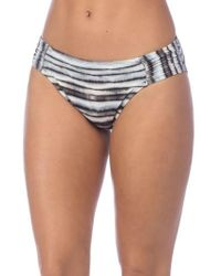 La Blanca - Shirred Hipster Bikini Bottoms - Lyst