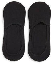 CALVIN KLEIN 205W39NYC - 2-pack No-show Socks, Black - Lyst