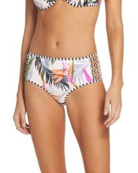 Body Glove | Litz High Waist Bikini Bottoms | Lyst