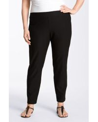 Eileen Fisher - Crepe Ankle Pants - Lyst