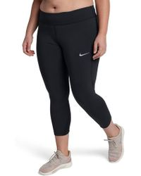 Nike - Power Epic Lux Crop Running Tights - Lyst
