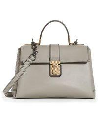 Bottega Veneta - Medium Piazza Top Handle Bag - - Lyst