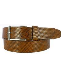 Remo Tulliani - Dodge Embossed Leather Belt - Lyst