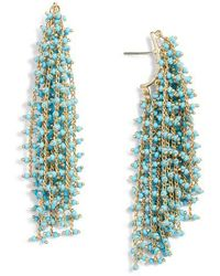 Vince Camuto - Waterfall Earrings - Lyst