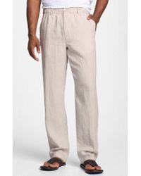 Tommy Bahama - 'new Linen On The Beach' Linen Pants - Lyst