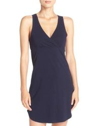Naked | Stretch Cotton Chemise | Lyst