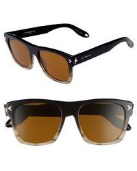 Givenchy - 55mm Square Sunglasses - Lyst