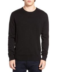 French Connection   Nylon Trim Pullover   Lyst