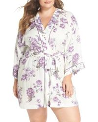 Nordstrom - Sweet Dreams Short Robe - Lyst