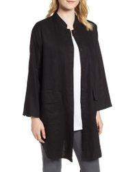 Eileen Fisher - Organic Linen Jacket - Lyst